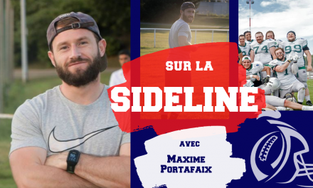 SIDELINE … avec Maxime Portafaix