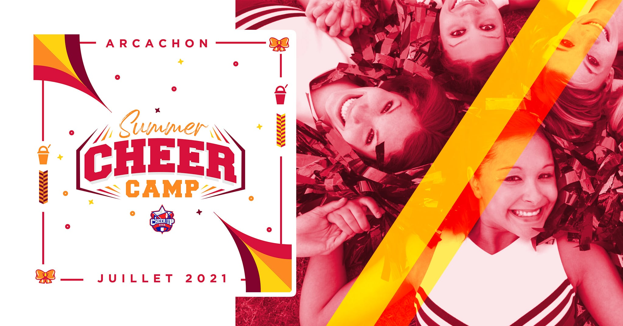 SUMMER CHEER CAMP 2021 | LANCEMENT DES PRE-INSCRIPTIONS