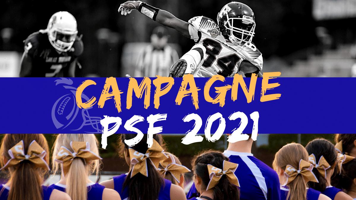 LA CAMPAGNE PSF 2021 EST TERMINEE !