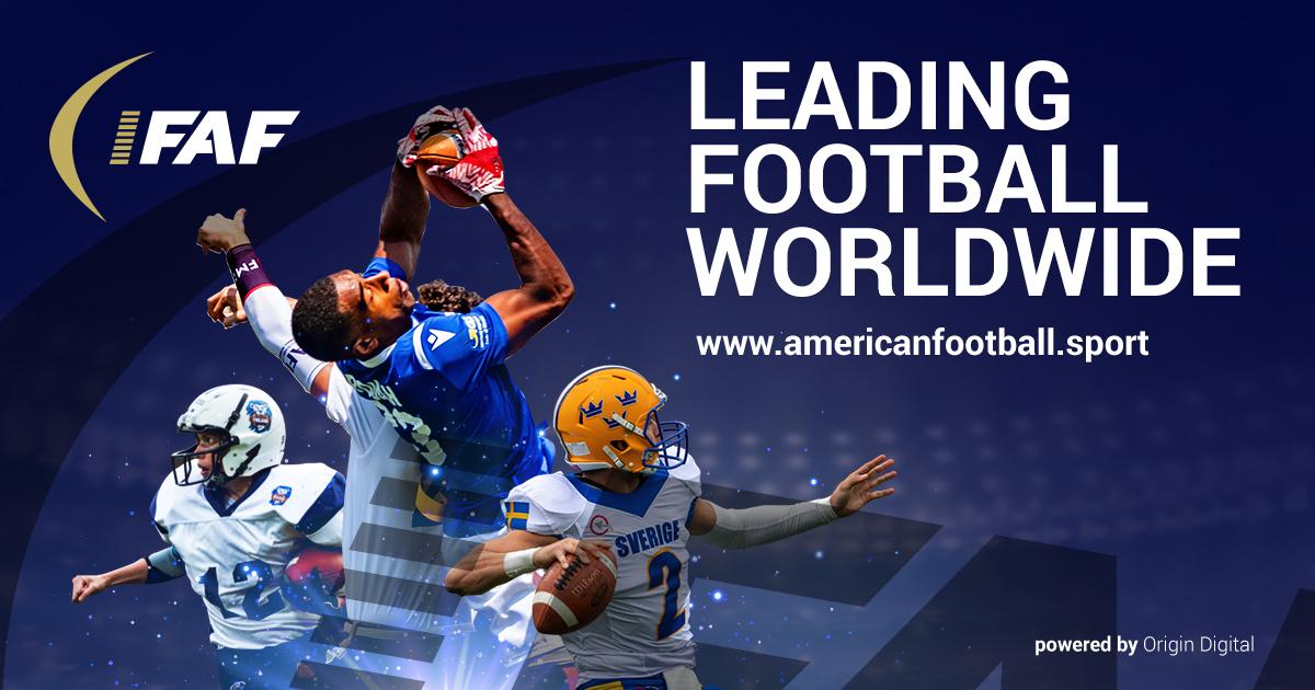 LA FEDERATION INTERNATIONALE DE FOOTBALL AMERICAIN CHANGE D'IDENTITE VISUELLE